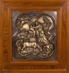 antique bronze form